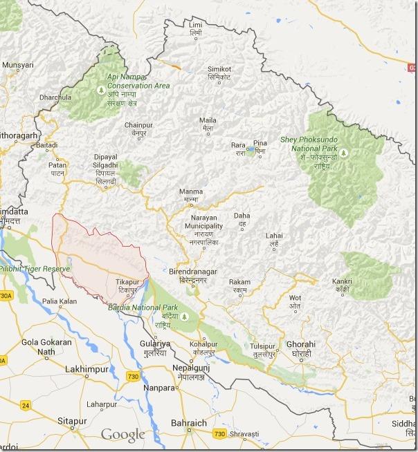 kailali map