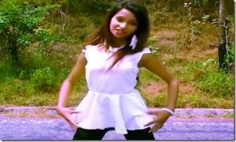 archana paneru in music video