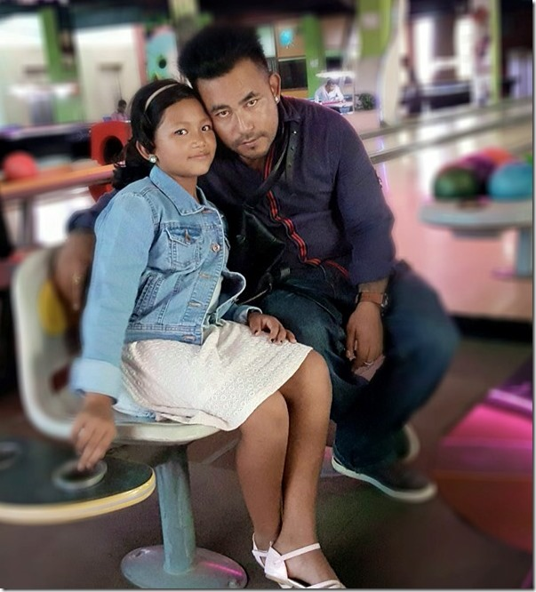 KUMAR GHAITE DON with daughter