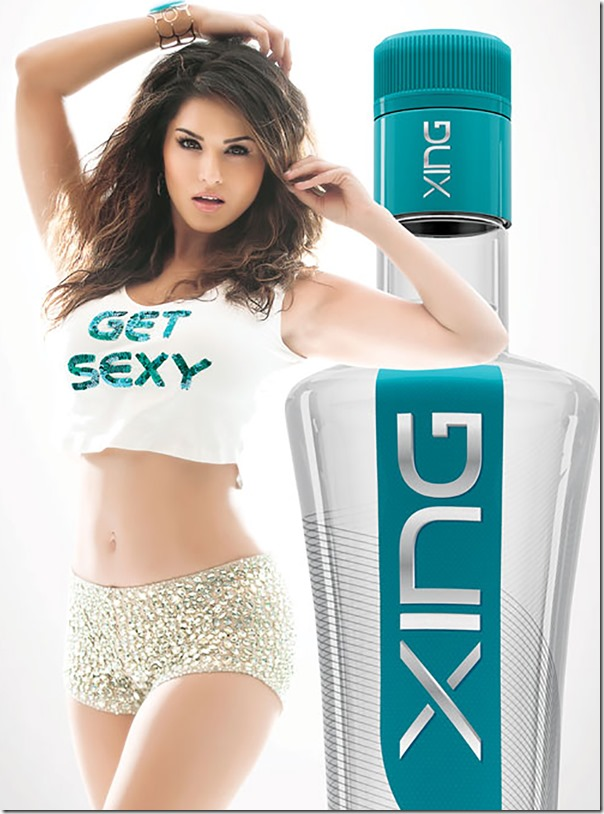 sunny leone and xing vodka