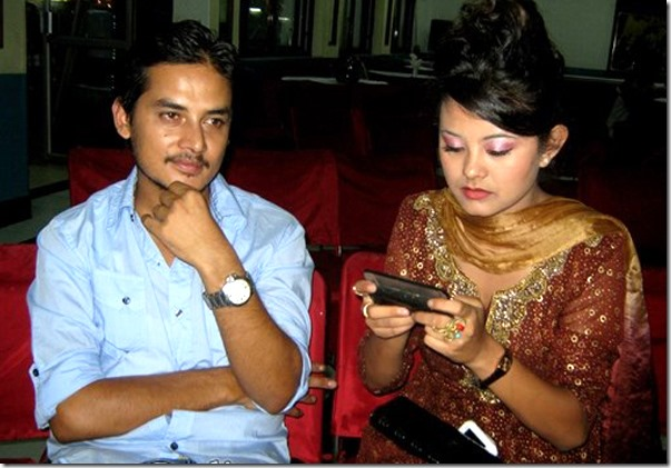 sushma karki-and-sudarshan thapa