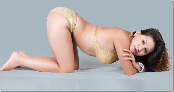 tirsana budhathiki in bikini 2