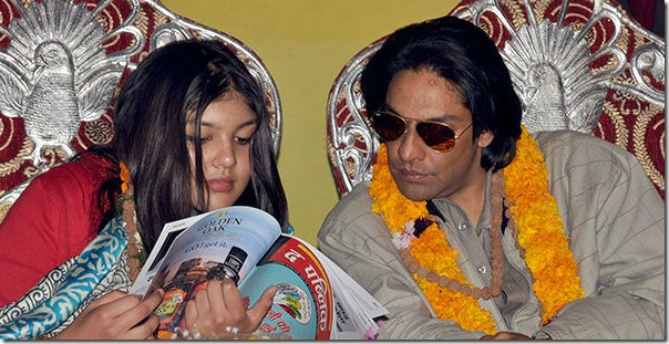 parash_Shah with dauther purnika shah