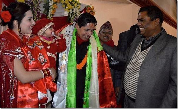 upendra yada at rishi dhamala party
