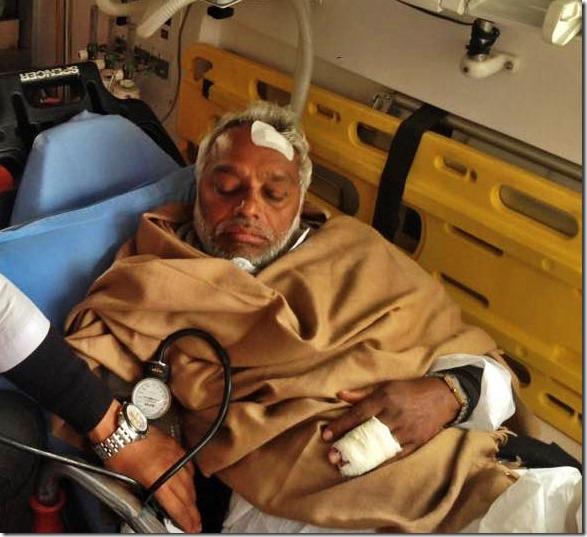 Rajendra_Mahato goest to delhi for treatment