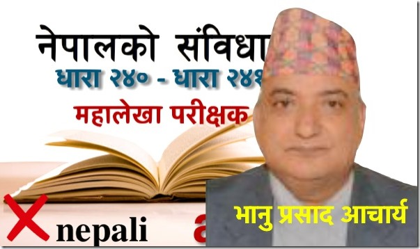 auditor general of nepal - nepal constitution