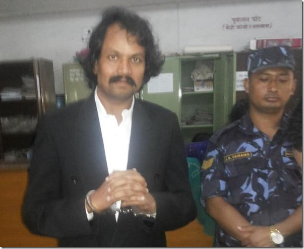 ck raut arrested by police file photo