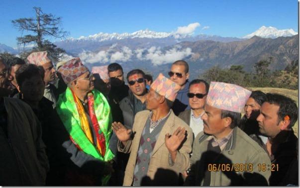 madhav poudel in dolkha 2013 file photo