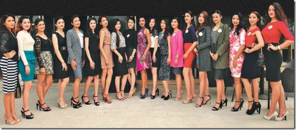 miss nepal contestants 19 all