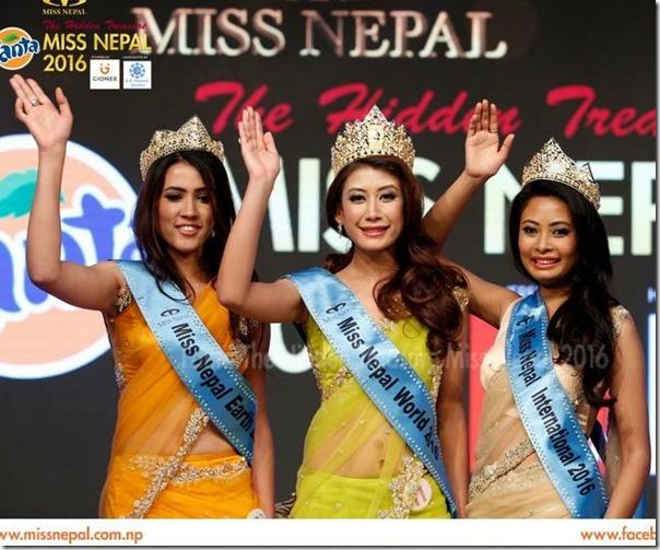 Miss Nepal 2016 winners1