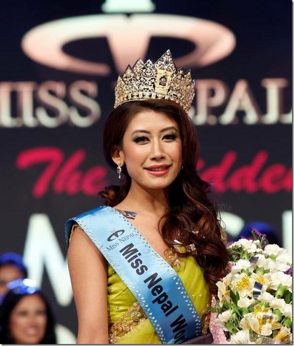 Miss Nepal 2016 winners2