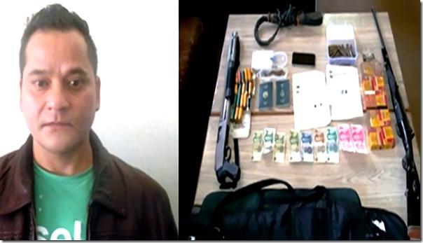 bishow kranti singh arrested shot gun