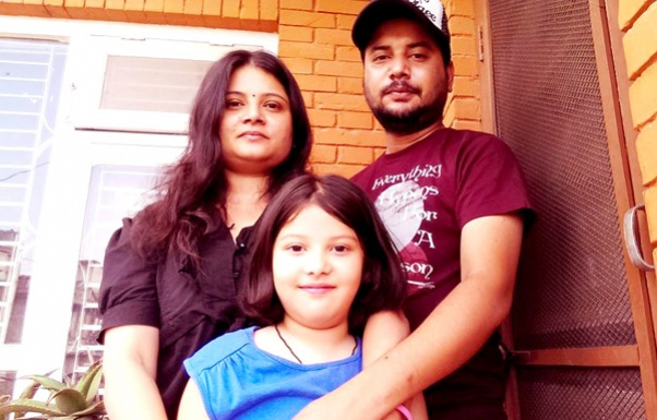 sugam-pokharel-with-wife-and-daughter