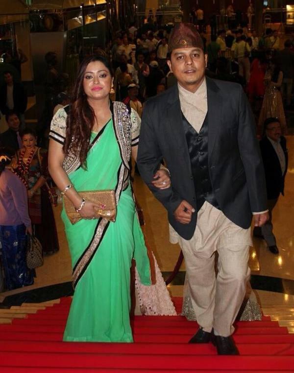 dilip rayamajhi and Manju RAyamajhi NEFTA 2014