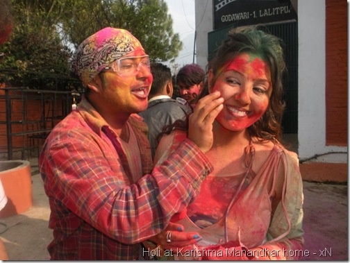 holi at karishma manandhar house_113