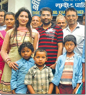 marriage-of-shobita-simkhada