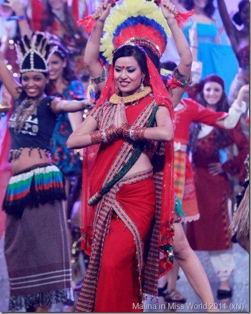 malina_miss_world_nepali_dress