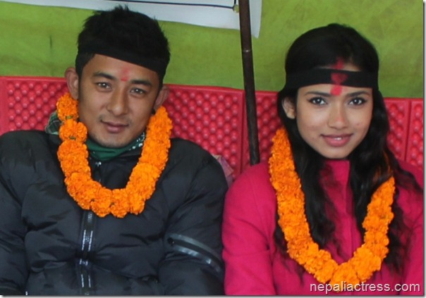 vickey malla and surabhi bista in strike