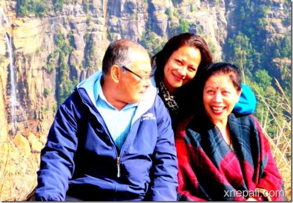sushmita bomjom (kC) with parents