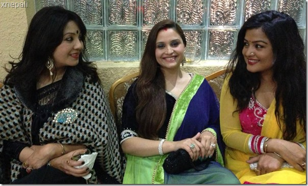 karishma manandhar sanchita luitel and rekha thapa