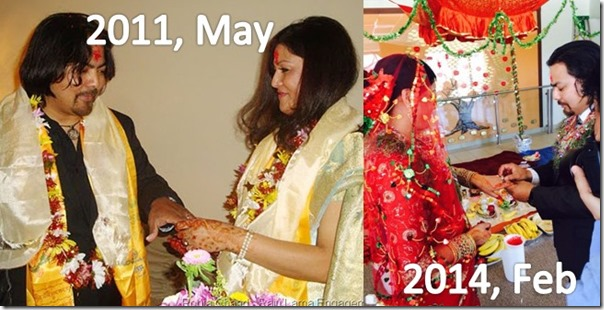 pooja chand and raju lama marriage 2