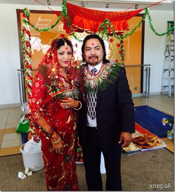 pooja chand marriage to raju lama feb 2014 (7)