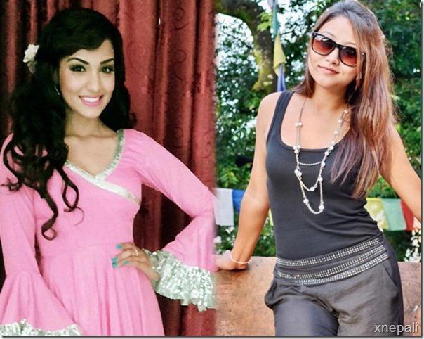 priyanka karki and ashishma nakarmi