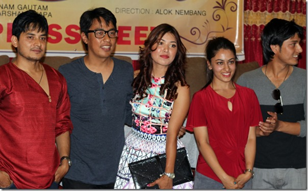 ajhai pani - press meet pooja sharma