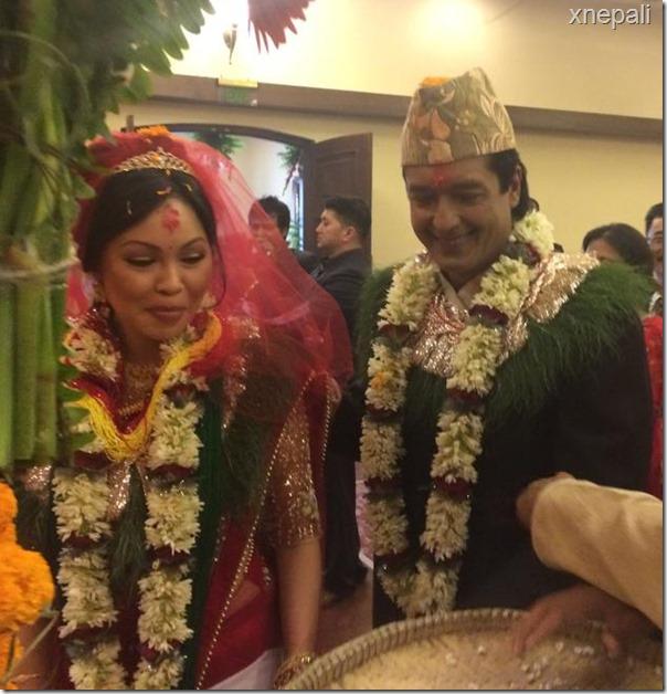 rajesh hamal marriage ceremony (4)
