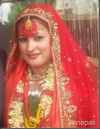 risha singh and gajendra thapa marriage  (5)