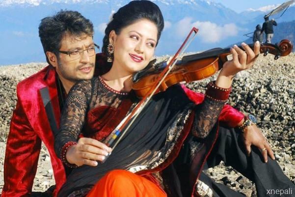 shree krishna shrestha and sweta khadka