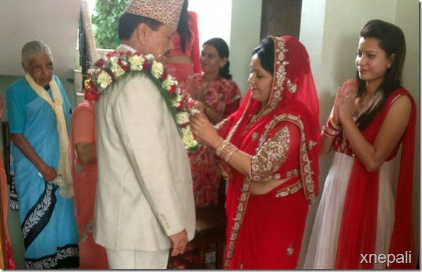 mithila sharma and motilal bohara engagement