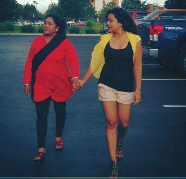 rekha thapa and mom saraswoti