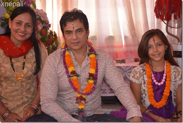 director aakash shrestha in bhaitika