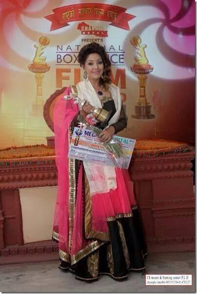 karishma wins award