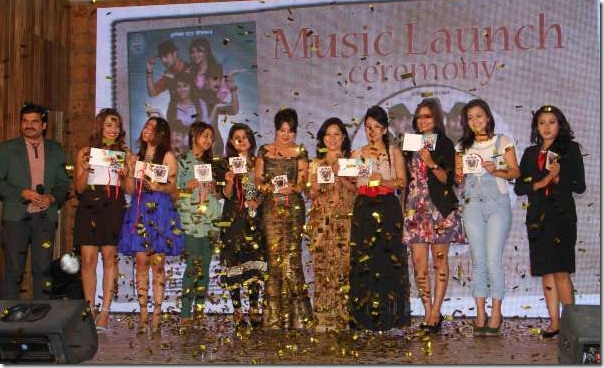 music launch of adhakatti 9 actresses