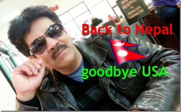 saroj khanal back to nepal