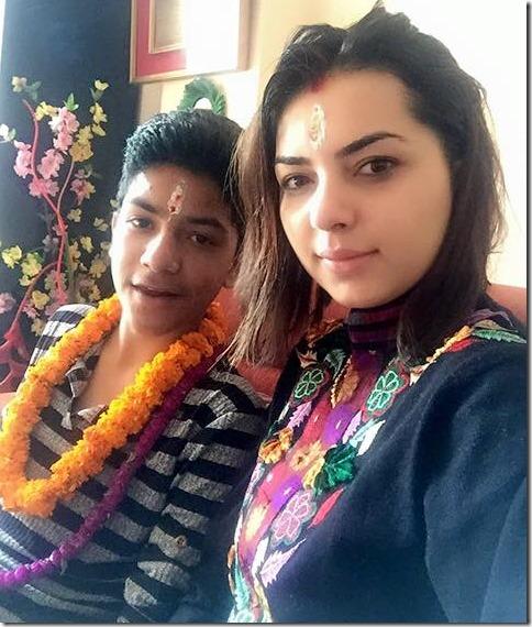 aliza dhamala bhai tika 2015