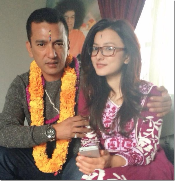 namrata shrestha and raj shrestha bhai tika 2015