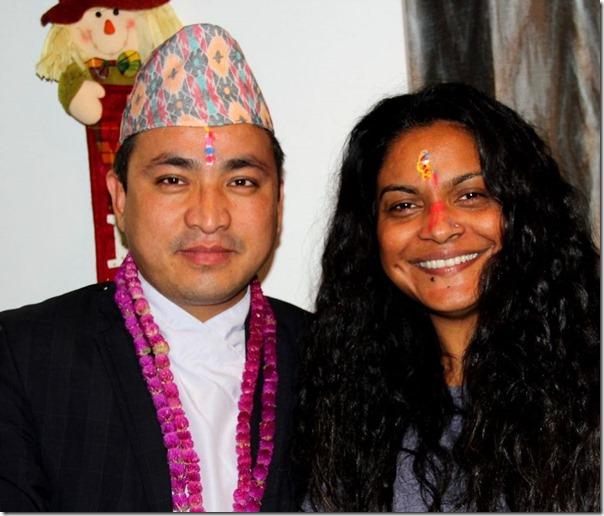 nisha sunar and suman budhamagar