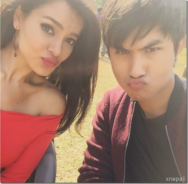 gajalu shooting shristi shrestha and anmol kc3