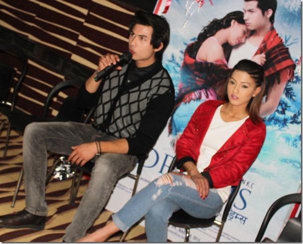 anmol kc and samragyee rl Shah dreams promo