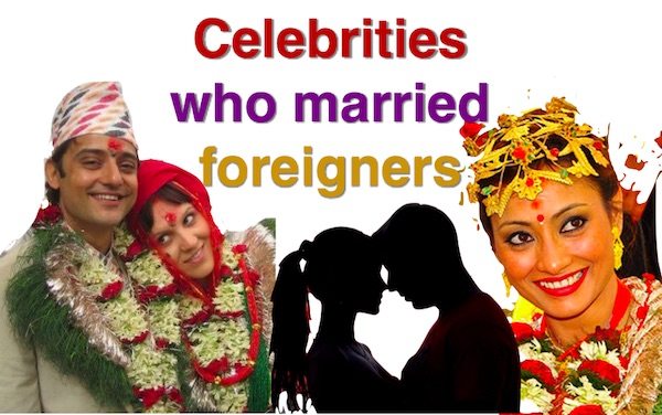 celebrities who married foreigners
