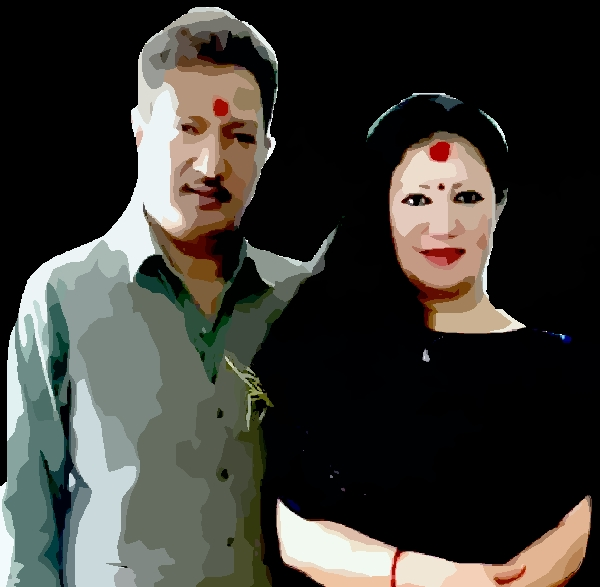 krishna Malla and sharmila malla