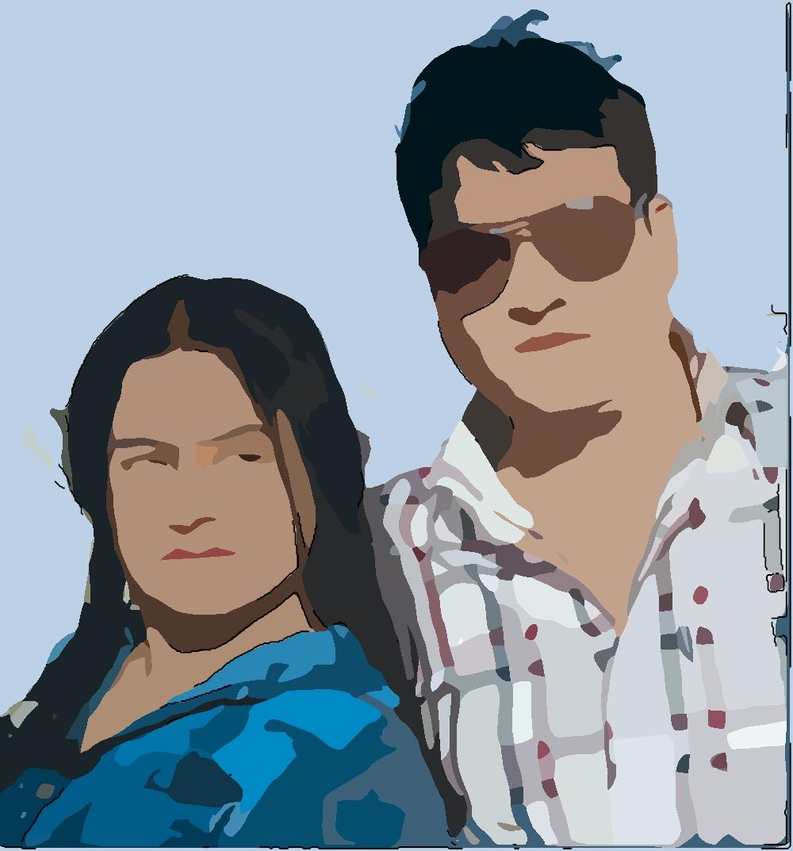 rekha thapa and chhabi raj ojha