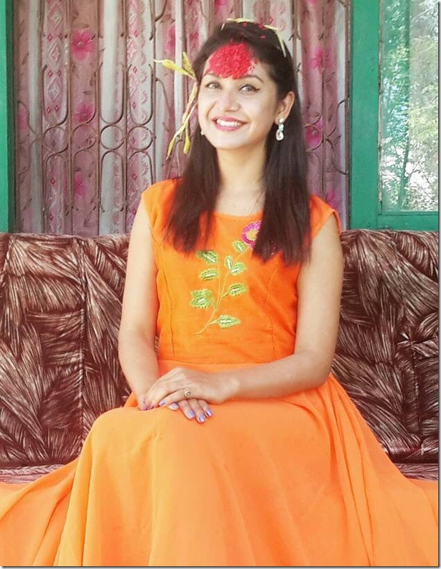 benisha hamal Dashain 2016