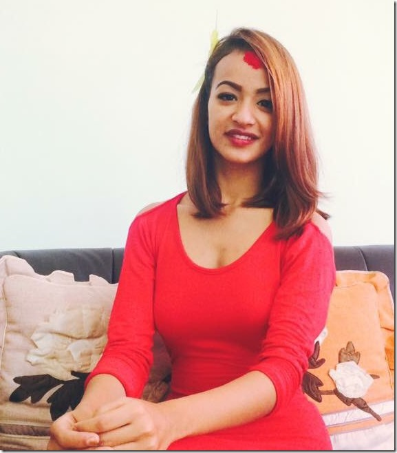 karishma shrestha Dashain 2016