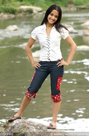 Priyanka Kaki teen