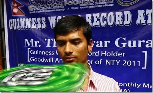 Thaneswor Guragain-new-record
