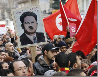 Tunisia-Protest